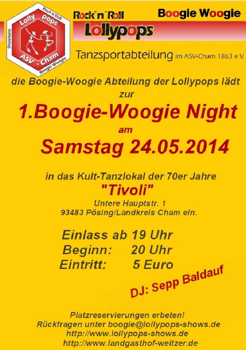 Boogie Night im Tivoli